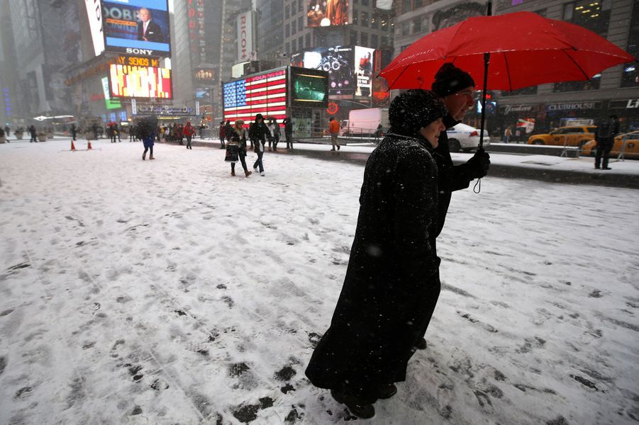 Avis de blizzard à New York