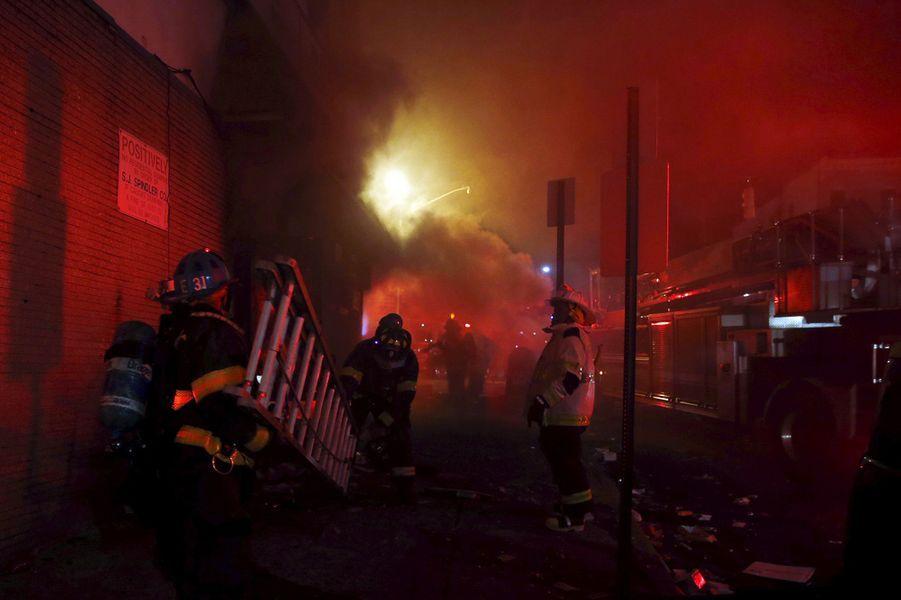 Le couvre-feu a été décrété à Baltimore