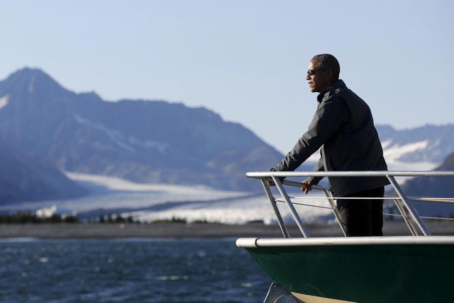 Obama devant un spectacle magnifique et inquiétant