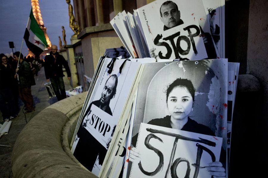 Paris soutient le peuple syrien