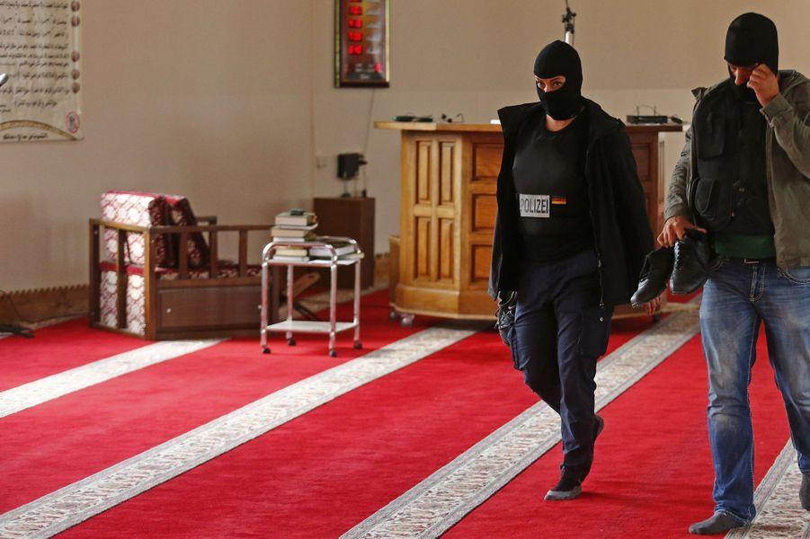 Perquisition dans une mosquée à Berlin