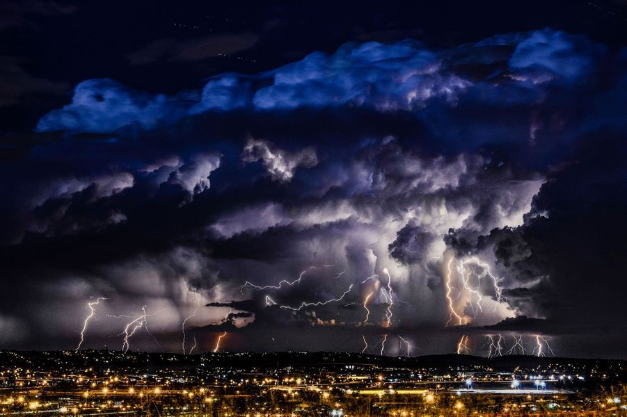 Quand le ciel gronde à Johannesburg