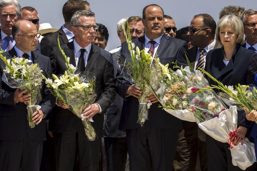 Recueillement sous haute sécurité en Tunisie