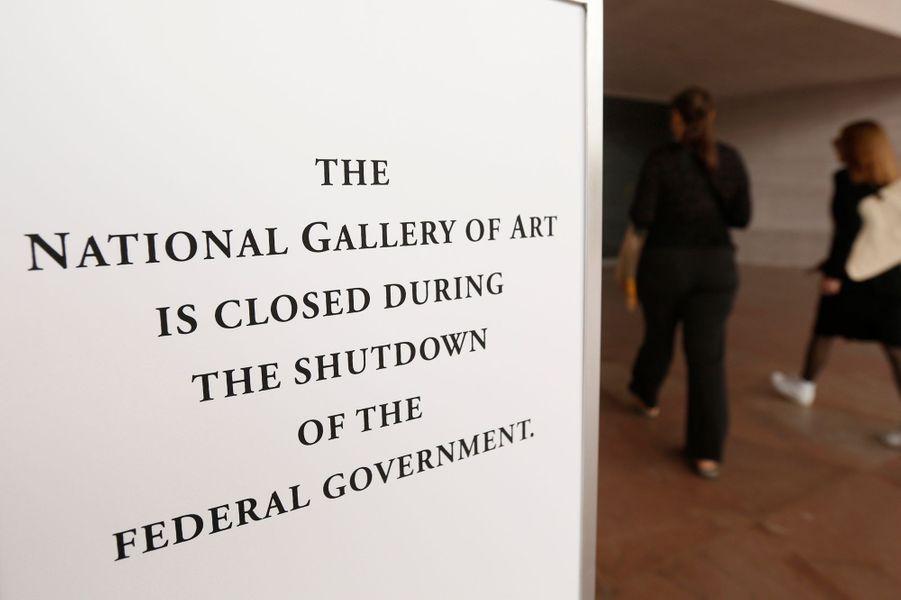 Les musées nationaux fermés