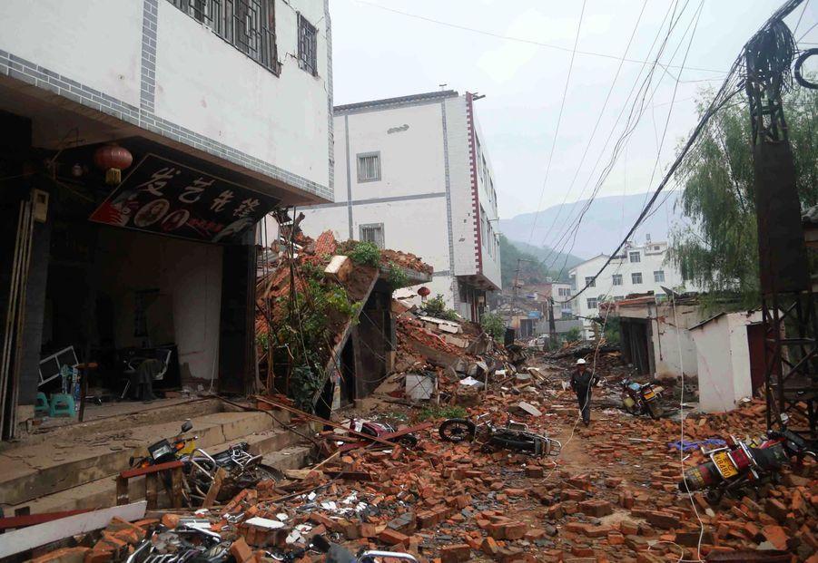 Tremblement de terre meurtrier en Chine