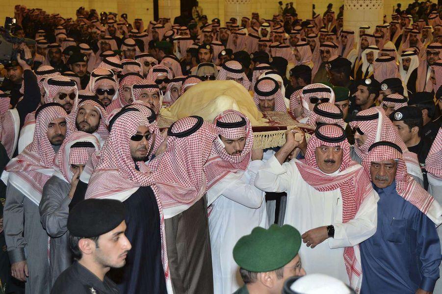 L'enterrement du roi Abdallah d'Arabie Saoudite a eu lieu ce vendredi