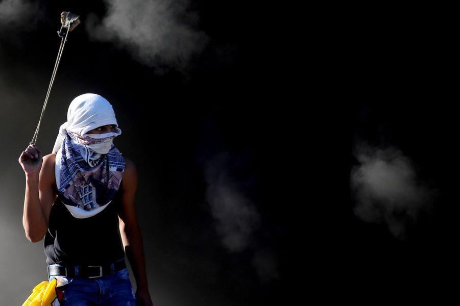 Violents heurts à Ramallah