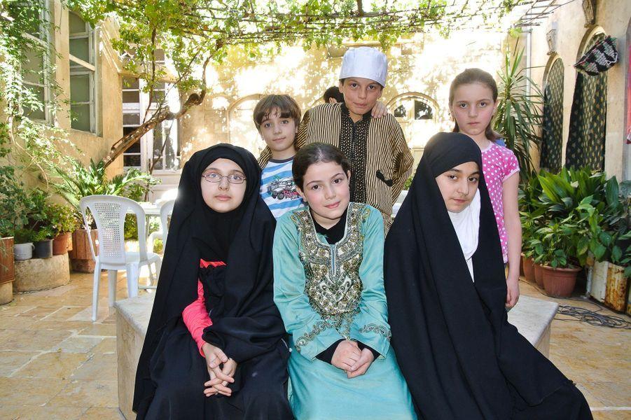 Le tournage de la série se déroule à Alep, en Syrie