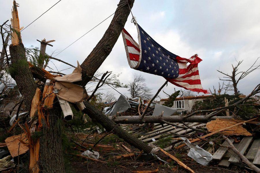 Washington dévasté par une tornade