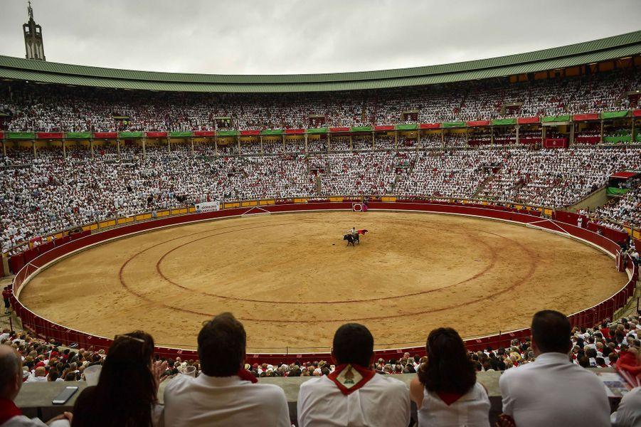 Gonzalo Caballero, dans l'arène.