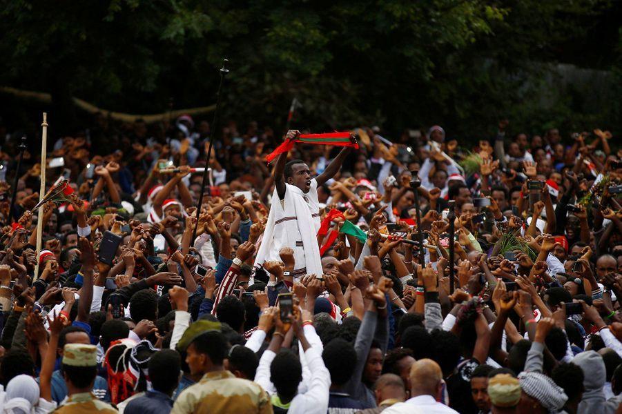 Les célébrations de la fin de la saison des pluies ont dégénéré en Ethiopie dimanche