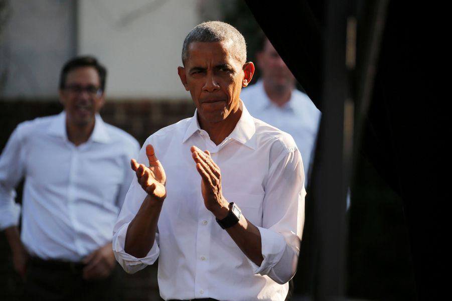 Barack Obama à Chapel Hille, en Caroline du Nord, le 2 novembre 2016.