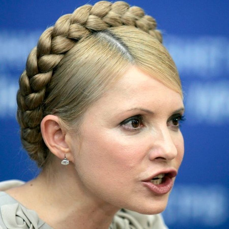 La première ministre ukrainienne Ioulia Tymoshenko se hisse à la 47e position.