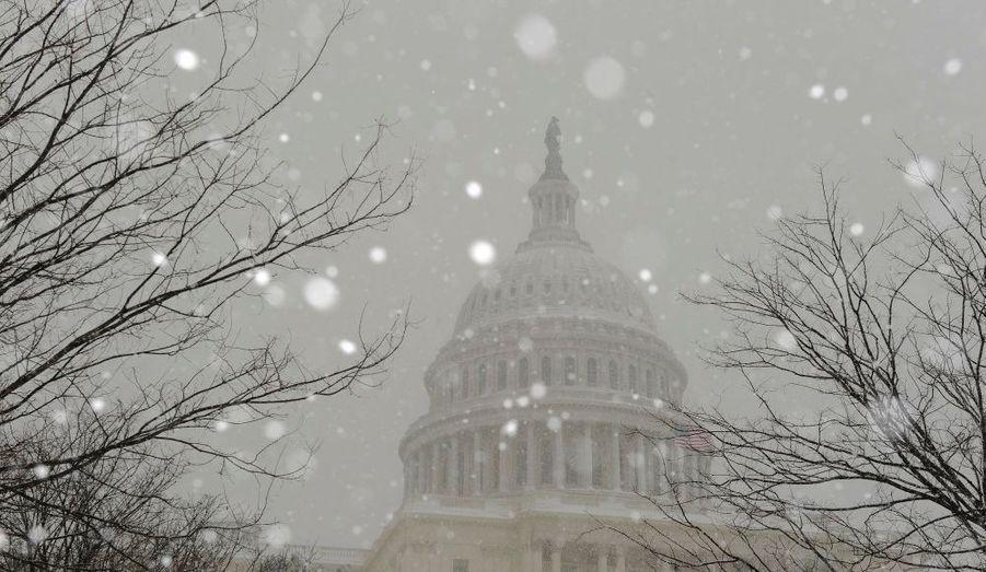 Les plus importantes chutes de neige depuis 90 ans. Depuis hier samedi, l'Est des Etats-Unis est confronté à ce qu'Internet a appelé le «Snowmageddon».
