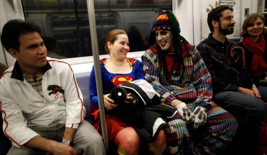 Défilé, métro, dodo