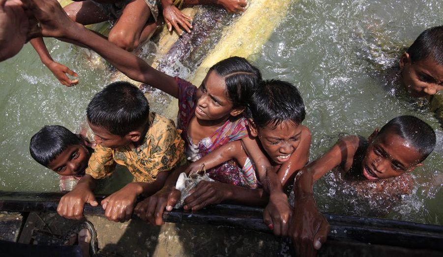 Les enfants, premières victimes des inondations