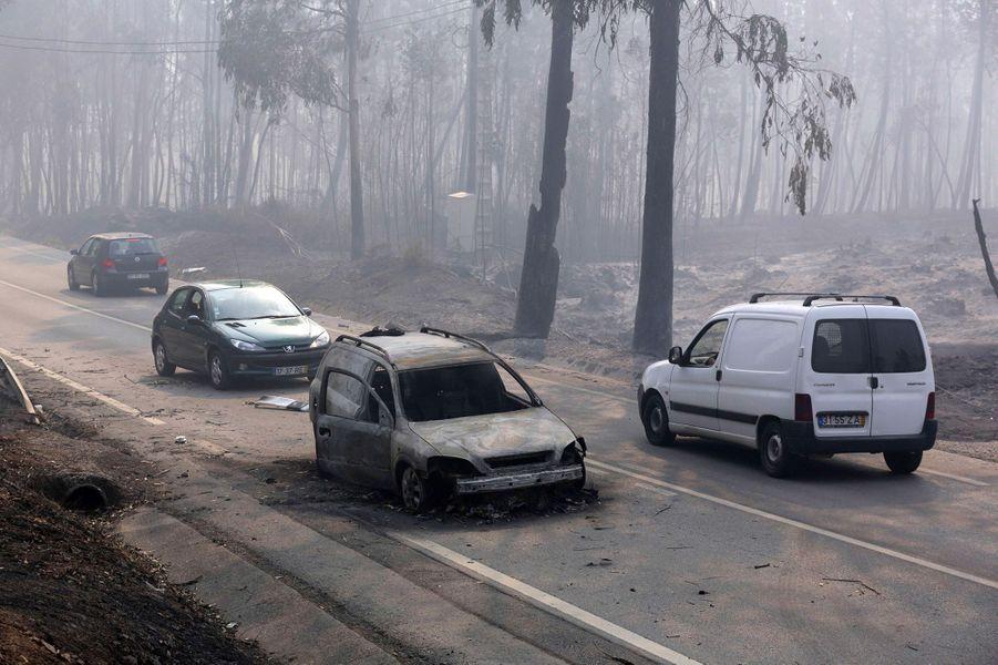 64 personnes ont perdu la vie dans l'incendie de Pedrogao Grande, dont 47 sur la N236.