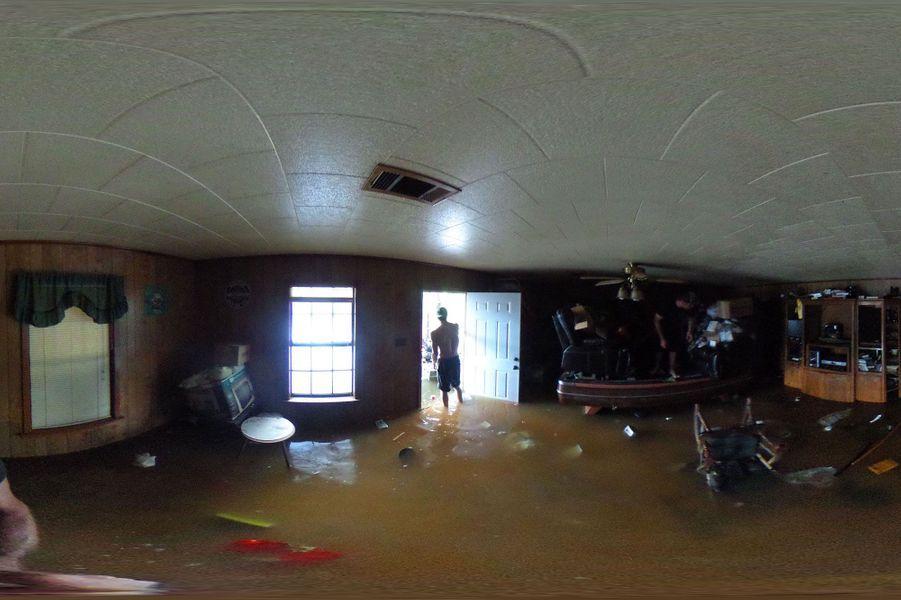 Les dégâts sont importants pour les habitants de la Louisiane