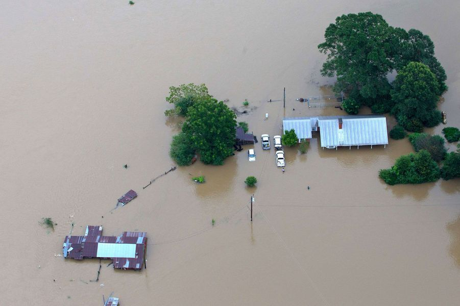 Inondations mortelles en Louisiane