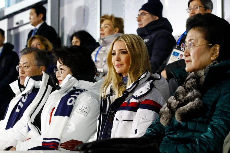 Ivanka Trump à la cérémonie de clôture des JO d'hiver