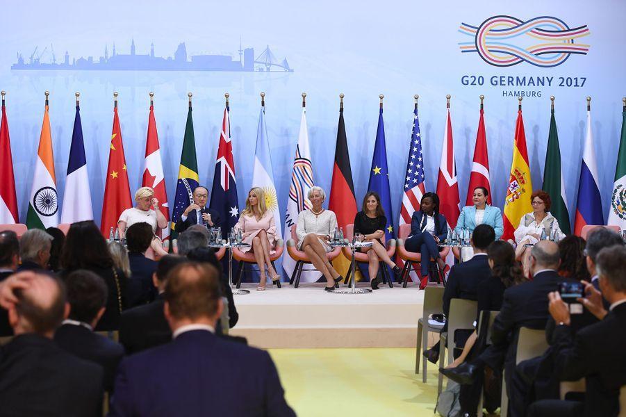 Ivanka Trump lors du lancement de laWomen Entrepreneurs Finance Initiative, au G20.