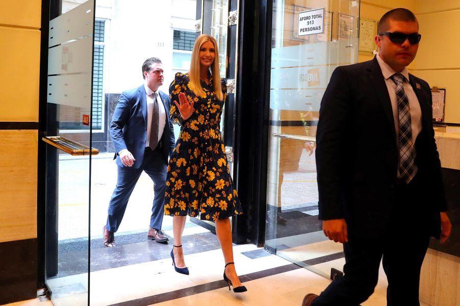 Ivanka trump part au p rou loin des tensions de la maison for Assurance gens de maison belgique