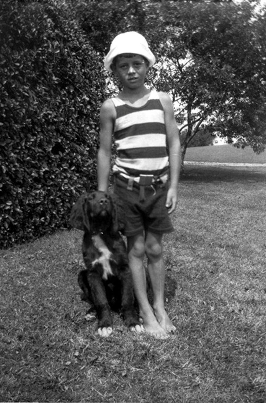 John F. Kennedy enfant.