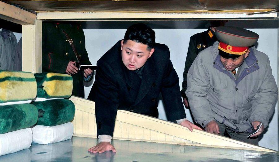 Le 1er janvier dernier, Kim Jong-un avait inspecté une division blindée de l'armée, sa première visite d'inspection en tant que commandant suprême des forces armées