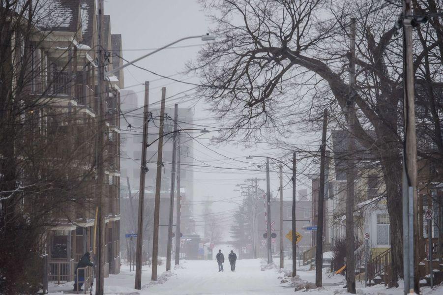 Au Canada, le froid va descendre jusqu'à -50 degrés.