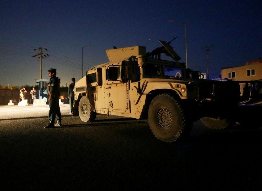 Kaboul: Un policier tué dans l'attaque d'un hôtel pour étrangers par les taliban