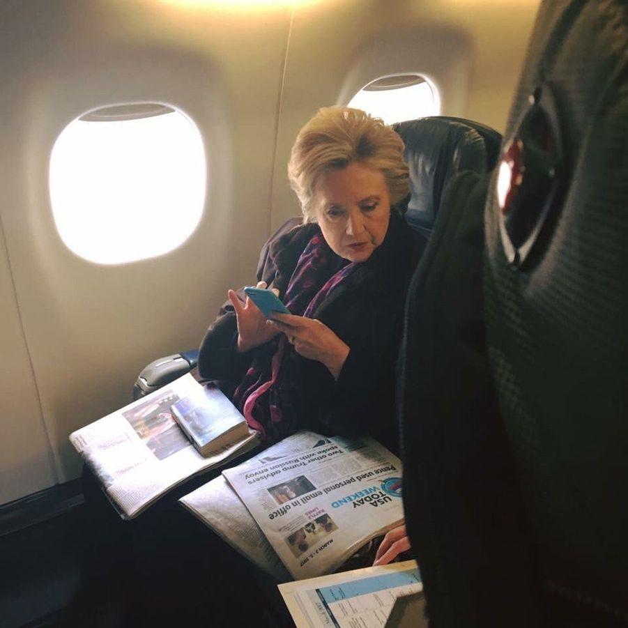 Hillary Clinton, toujours sonnée après sa défaite électorale.