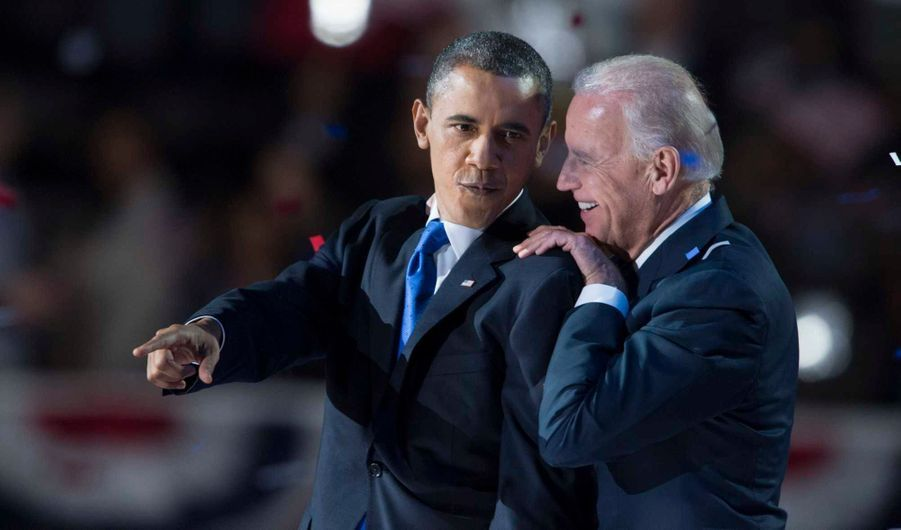 Evidemment, son colistier Joe Biden a rempilé pour un second mandat à la vice-présidence des Etats-Unis.
