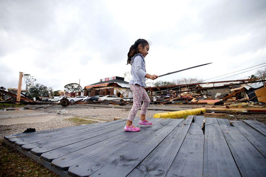 Les tornades ont ravagé la Louisiane