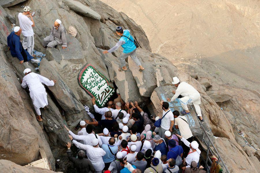 Comme chaque année, des milliers de musulmans se retrouvent à La Mecque, en Arabie saoudite, pour le pèlerinage.