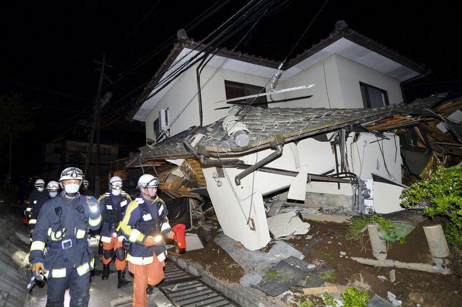 Un tremblement de terre de magnitude 6,5 a fait des blessés au Japon