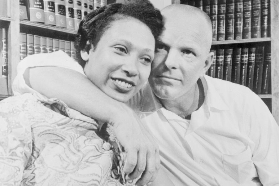 Mildred et Richard Loving à Washington.