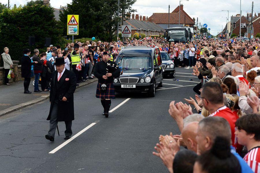 Les funérailles du petit Bradley Lowery ont eu lieu le 14 juillet 2017.