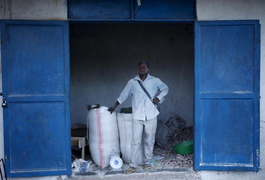 Un ouvrier de Bujumbura