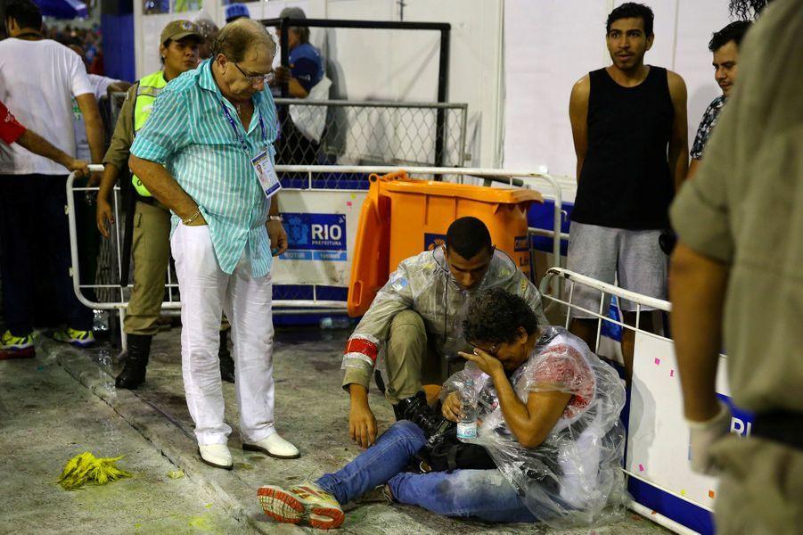Le Carnaval de Rio touché par le drame.