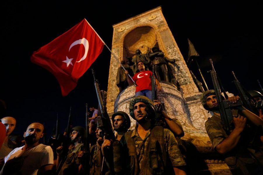 Place Taksim à Istanbul