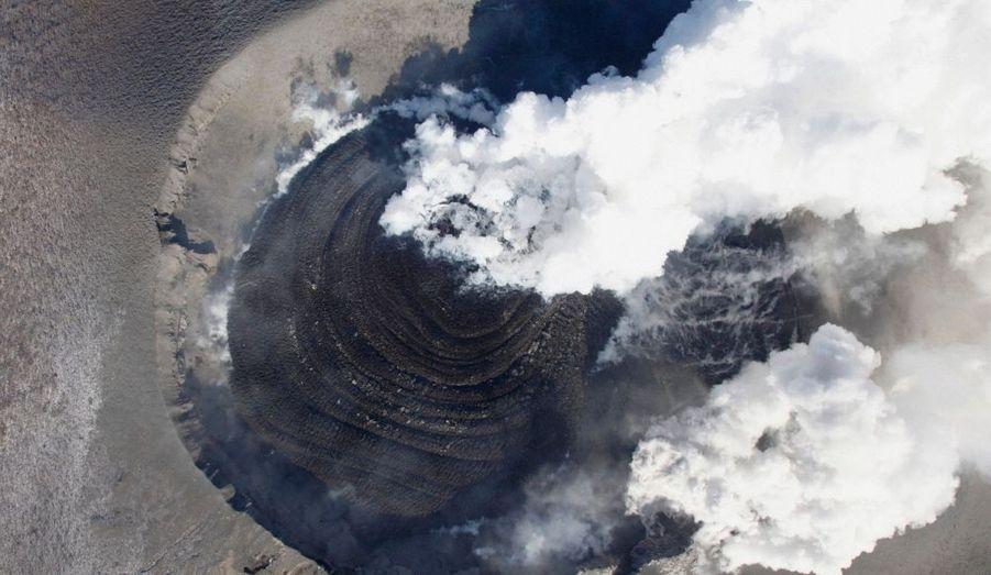 Effondrement du cratère