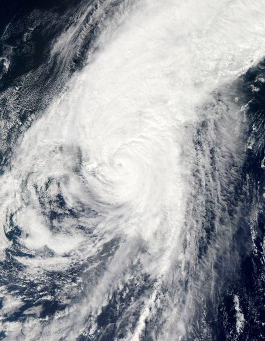 Une vue satellite