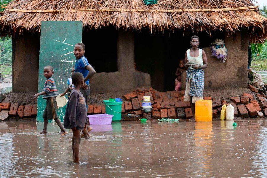 Le Malawi ravagé par les eaux