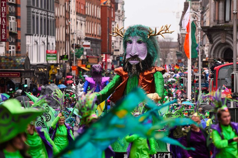 La parade de Dublin