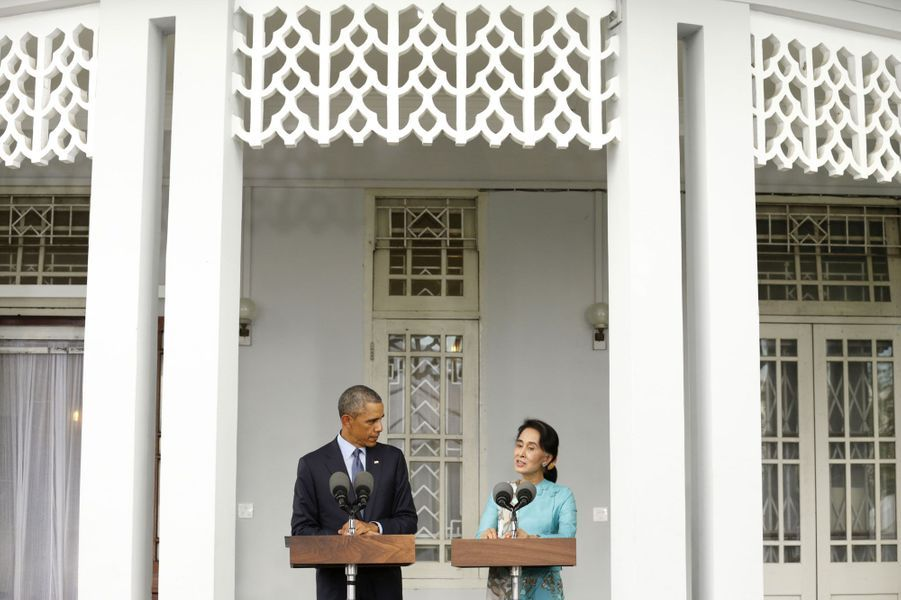 Obama redonne le sourire à Aung San Suu Kyi