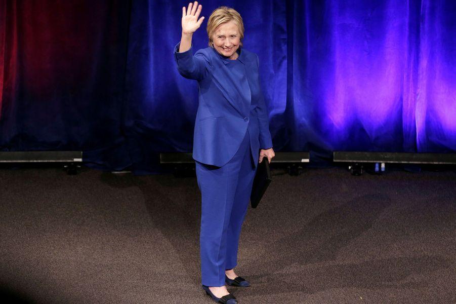 Hillary Clinton au gala du Children's Defence Fund à Washington, le 16 novembre 2016.