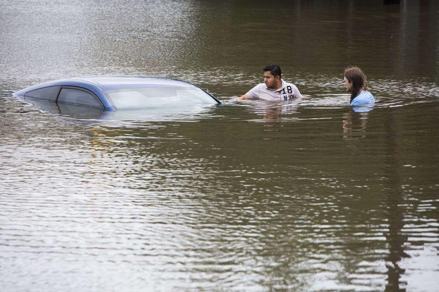 Le Texas sous les eaux