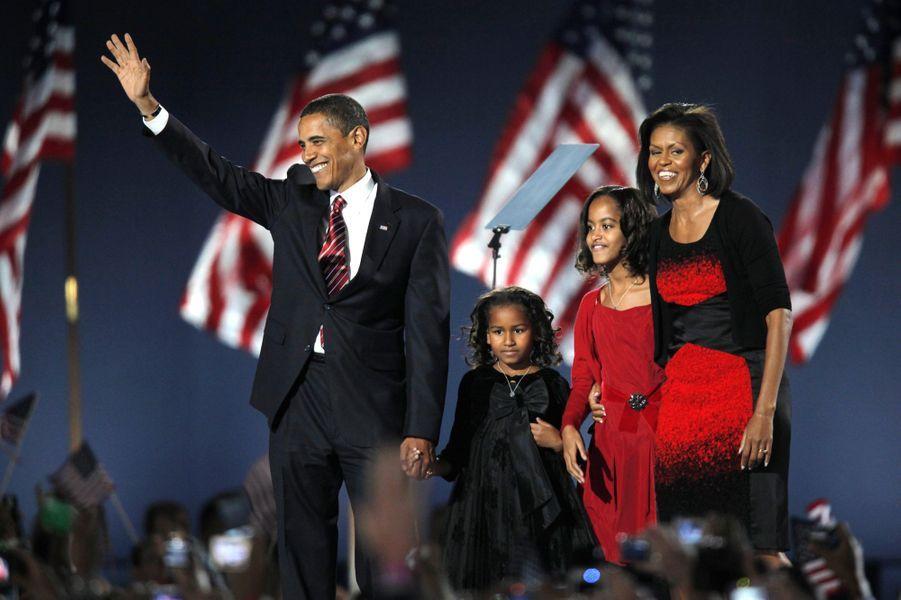 En novembre 2008, Barack Obama a été élu président.A voir : Barack Obama, sa présidence en 50 photos
