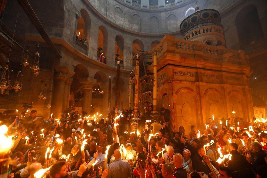 Des milliers de chrétiens du monde entier étaient à Jérusalem ce week-end pour les célébrations de Pa^