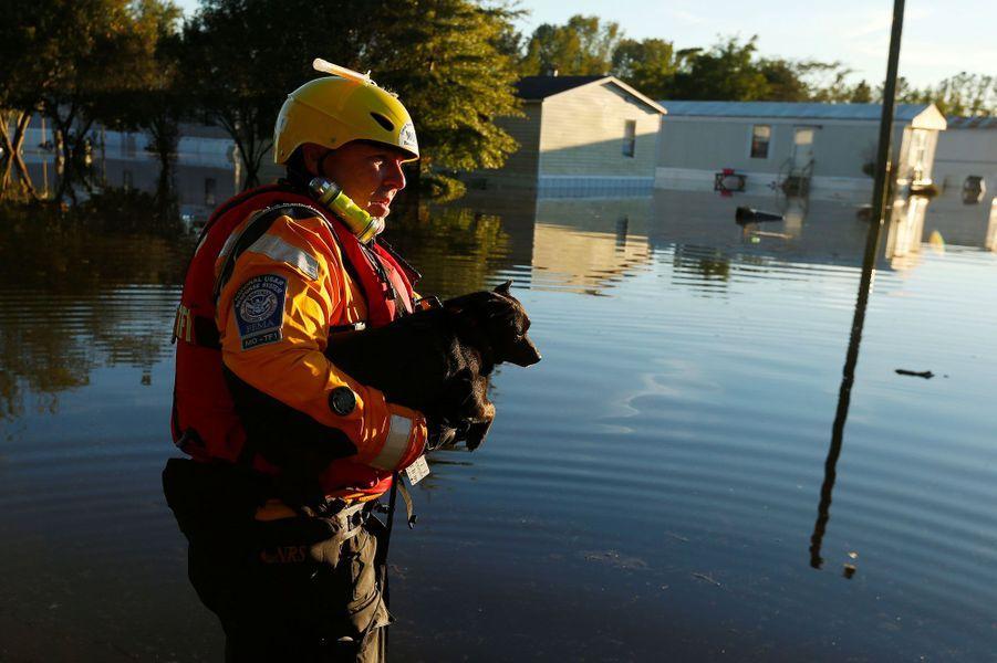Les Etats-Unis, eux aussi ravagés par l'ouragan Matthew